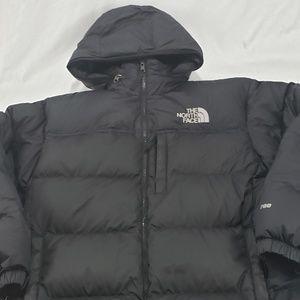 North Face Men's Black Goose Down Puffer Jacket